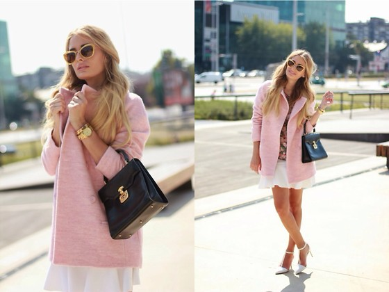 How to wear: Powder pink coats | SCAN
