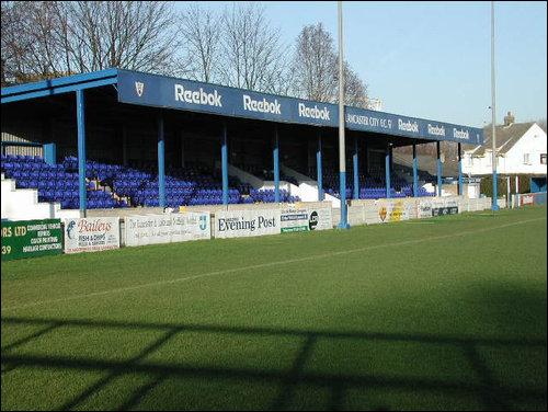 Lancaster City F C 3 1 Radcliffe Borough Scan