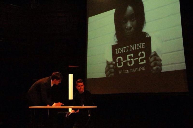Taken during a performance of LUTG's Original Drama: 'Unit-Nine' Photo: LUTG