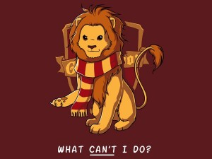CUTEST GRYFFINDOR LION EVER from pinterest