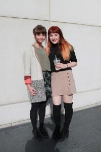 Lauren and Nina