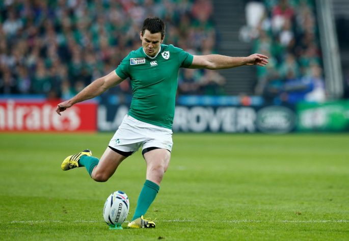 Johnny Sexton taking a penalty for Ireland. Image courtesy of irishtimes.com