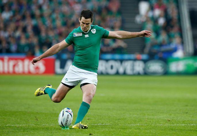 Johnny Sexton taking a penalty for Ireland. Image courtesy of irishtimes.com