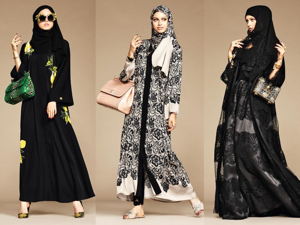 f9cd8fb1e349 Dolce   Gabbana Debut First Abaya Collection   SCAN